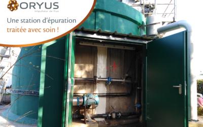 À Briec, ORYUS traite avec soin la station d'épuration des eaux usées de MARIE Frais