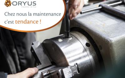 Chez ORYUS, la maintenance est tendance !